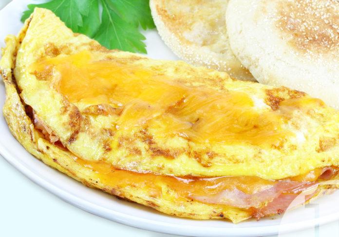Ομελέτα με ζαμπόν και τυρί | Συνταγές για επαγγελματική κουζίνα | Ena Blog