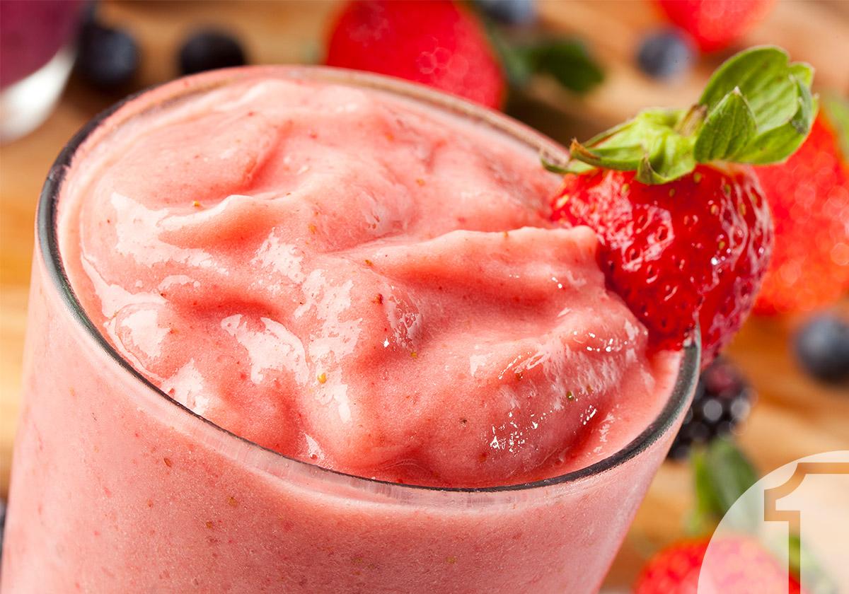 Smoothie με φράουλες και γιαούρτι | Ena Blog