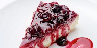 Cheesecake με μαρμελάδα κεράσι | Ena Blog