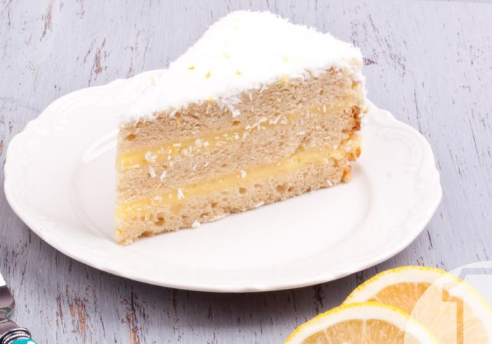 Κέικ λεμονιού με καρύδα | Ena Blog
