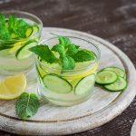 Λεμονάδα με αγγούρι και μέντα | Ena Blog