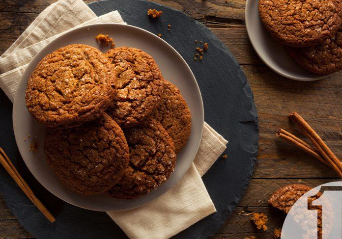 Soft Cookies με τζίντζερ | Ena Blog