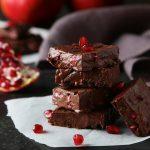 Chocolate Fudge με ρόδι | ENA Blog