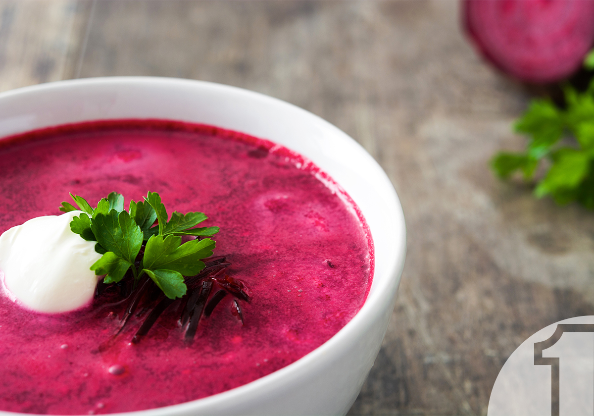 Κόκκινη Σούπα με Παντζάρια και Λάχανο | Ena Blog
