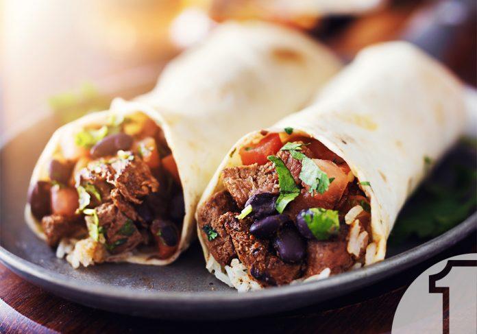 Burritos με μοσχάρι και μεσογειακή σως πάπρικα | Ena Blog