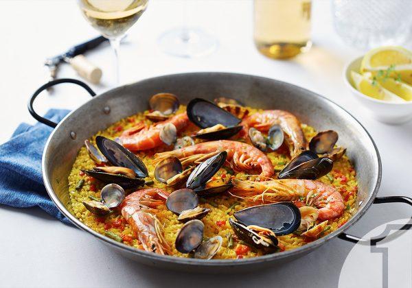 Λαχταριστή Paella με θαλασσινά | Ena Blog
