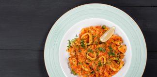 Ριζότο με καλαμαράκια | Ena Blog