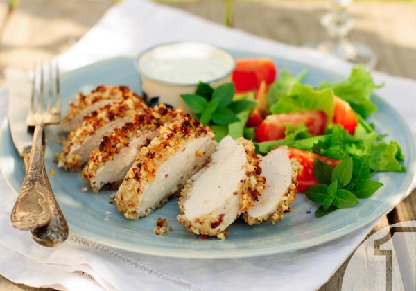 Κοτόπουλο με σάλτσα γιαουρτιού και θυμάρι | Ena Blog